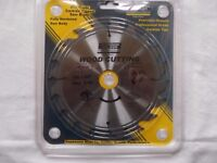 New circular saw blade - Atkinson Walker 190mm X 20 teeth - Pro Trade Carbide Tipped