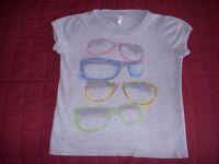 NEXT Girls T Shirt Glasses design Age 8-9 years