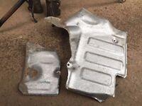 Original Toyota Mr2 mk2 engine bay heat shield (both parts)
