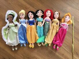 Disney Princess Soft Toy Dolls