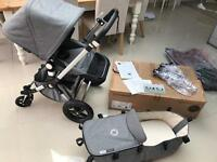 Beautiful BUGABOO CAMELEON 3 Classic + Grey Melange Special Edition
