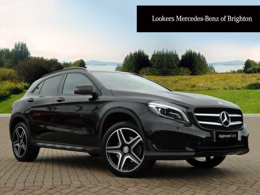mercedes benz gla class gla250 4matic amg line premium plus black 2015 04 02 in portslade. Black Bedroom Furniture Sets. Home Design Ideas