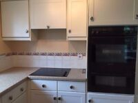 Kitchen units and appliances for sale (excluding washing machine). Collection only.