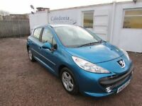 2009 PEUGEOT 207 1.4 PETROL MOT JANUARY 2019