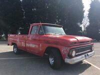 Chevrolet c10 pick up truck, rat rod look, Daily driver