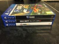 Ps4 games, Fifa 17, call of duty black ops 3
