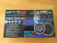 Car Speakers MEGAVOX GX430 , 150 W, 100 mm