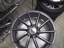 New 20 inch Rims set for Audi A4 A5 A6 A7 A8 style Vossen. 5x112
