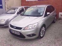 08 FORD FOCUS STYLE TD 1.8 DIESEL IN SILVER *PX WELCOME* MOT TILL JANUARY 2018 £1995