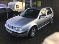Automatic 2003 VW golf 5 dr hatchback in vgc low mileage car 1 years mot drives superb px considered