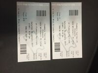 Jack whitehall tickets X 2,
