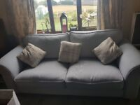 DFS Dorset sofa, chair and footrest
