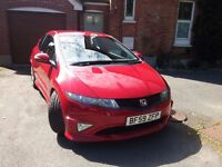 2009 59 Honda Civic Type R GT Milano Red - Long MOT & Service