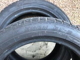 Snow Tyres 175 55 15 Nankang SV-2