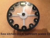 Kitchen/bathroom scales