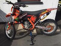 Ktm 450 2014 under 25hours from new not Honda Kawasaki Yamaha Suzuki