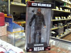 THE WALKING DEAD NEGAN COLLECTABLE CHARACTER BRAND NEW IN BOX WITH A 6 MONTHS WARRANTY