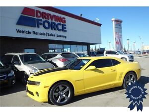 2010 Chevrolet Camaro 2SS - 6.2L V8, Leather Seats, 41,298 KMs