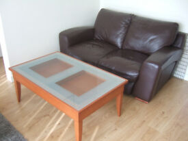 Coffee table 110 x 70 x 45cm, this coffee lifts up to allow dining in front of the TV.