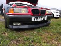 BMW E36 Coupe AC Schnitzer Bumpers