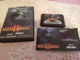 Saga Megadrive Mortal Combat Game