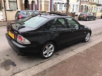 Lexus IS 200 is200 black manual superb condition not BMW (525D 320d 530)