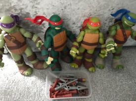 TMNT battle shell 30cm figures turtles
