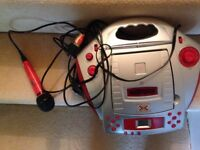 X Factor portable karaoke machine