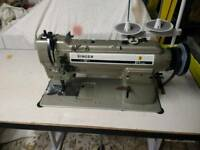 Singer industrial walkingfoot sewing machine 211 566a