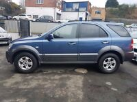 2004 Kia Sorento 2.5 Manual Diesel With 12 Month MOT PX Welcome