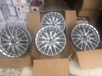 Ford Focus transit connect 17 inch alloys