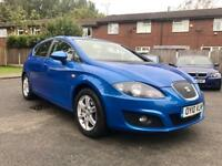 2010 SEAT LEON 1.6 TDI SE *12 MONTH MOT* TOP SPEC* 5 DOOR* LOW MILES* NAV*