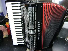 piermaria 120 bass accordion swing tuned