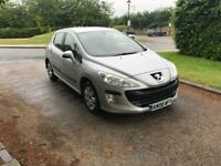 PEUGEOT 308 1.6 2008 ONLY DONE 60k GENUINE MILES DRIVES THE BEST