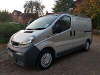 Vauxhall vivaro 2006, SWB, 130,000 miles, dead locks, roof rack, drives well,bluetoot...