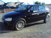 VAUXHALL CORSA 2003, 1.0 LITRE, 5 DOOR, MET BLACK, ONLY 79K, EXTREMELY ECONOMICAL, WITH EXTRAS