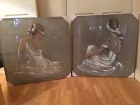 Set of 4 Canvas Pictures
