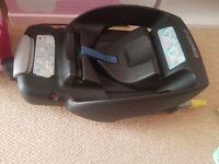 Isofix car seat base..