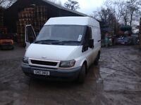 Van for sale for parts or repair
