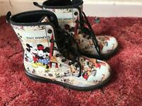 Minnie and Mickey boots size 6