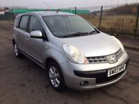 2007 Nissan Note 1.4 se , mot - October 2017 , only 84,000 , service history , focus,astra,scenic,
