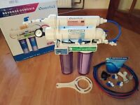 4 Stage 75 Gallon Per Day Reverse Osmosis System with DI