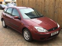 2002 Ford Focus 1.6 LX MOT FAILURE SOLD FOR SPARES OR REPAIR