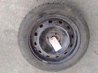 MK3 RENAULT CLIO STEEL WHEEL WITH TYRE 185/55/R15