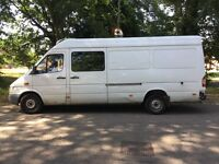 Mercedes Sprinter 316 CDI Fridge van 2686cc Turbo Diesel 5 speed manual LWB Hi-Top 54 Plate 2004