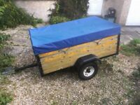Trailer - with cover (153cm x 90cm)