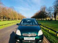 TOYOTA YARIS AUTOMATIC 2004 12000 WARRANTED MILES 12 MONTH MOT IDEAL FIRST CAR CHEAP TO INSURE