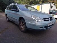 Citroen C5 2.0 HDi VTR 5dr£450 p/x to clear GREAT WORK HORSE, SOLID ENGINE