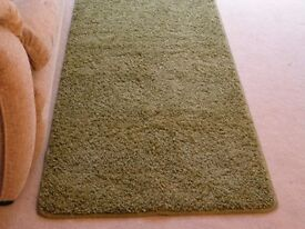 Runner rug apple green 200cm L x 66cm W