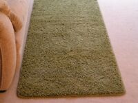 Runner rug apple green 200cm L x 66cm W